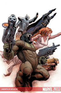 Agents of Atlas #2 Review