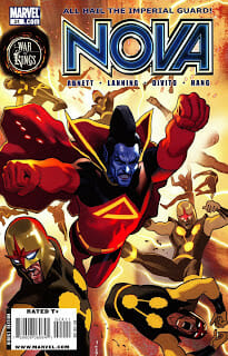 Weekly Awards For The Comic Books From April 29, 2009