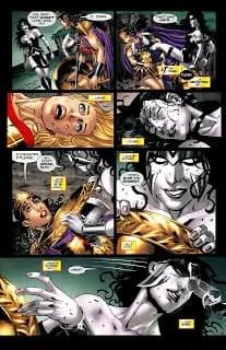 Blackest Night: Wonder Woman 2-5