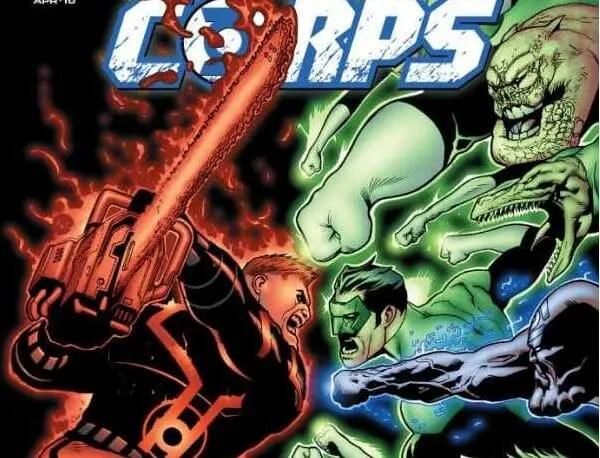 Green Lantern Corps #45 Review