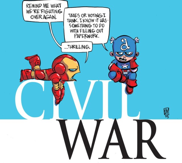 Secret Wars Civil War 1