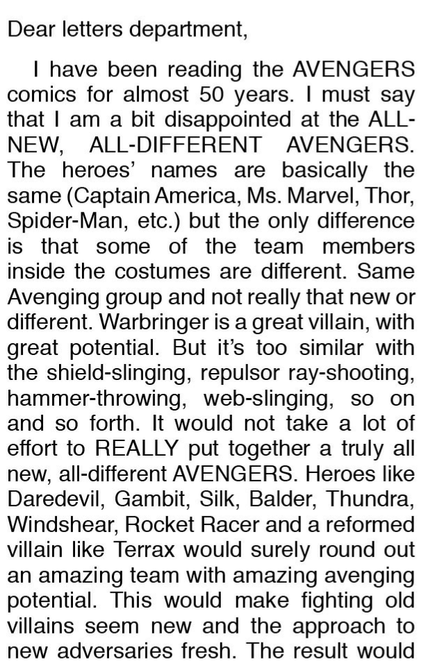 All New All Different Avengers #6 Review