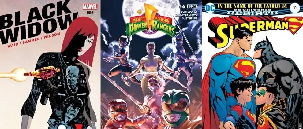 Top 10 Comic Books Of 2016