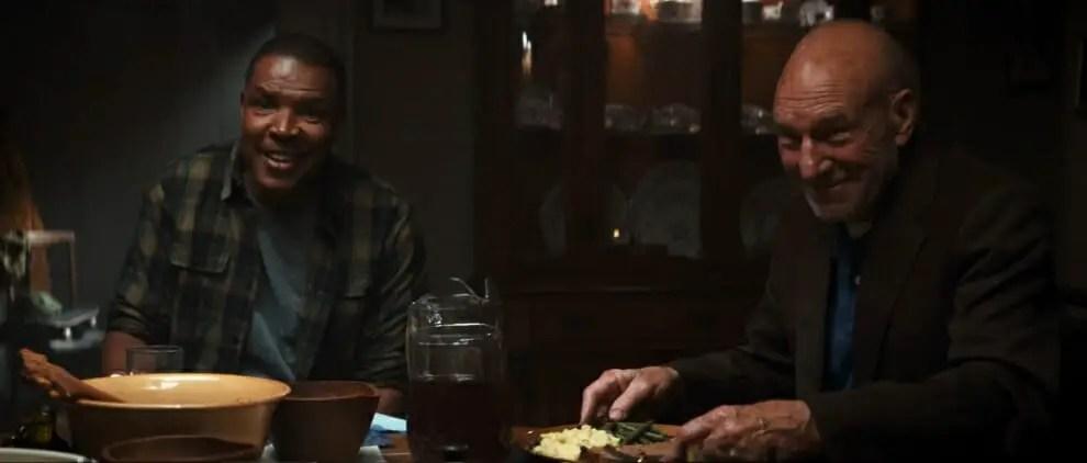 Image result for logan dinner scene
