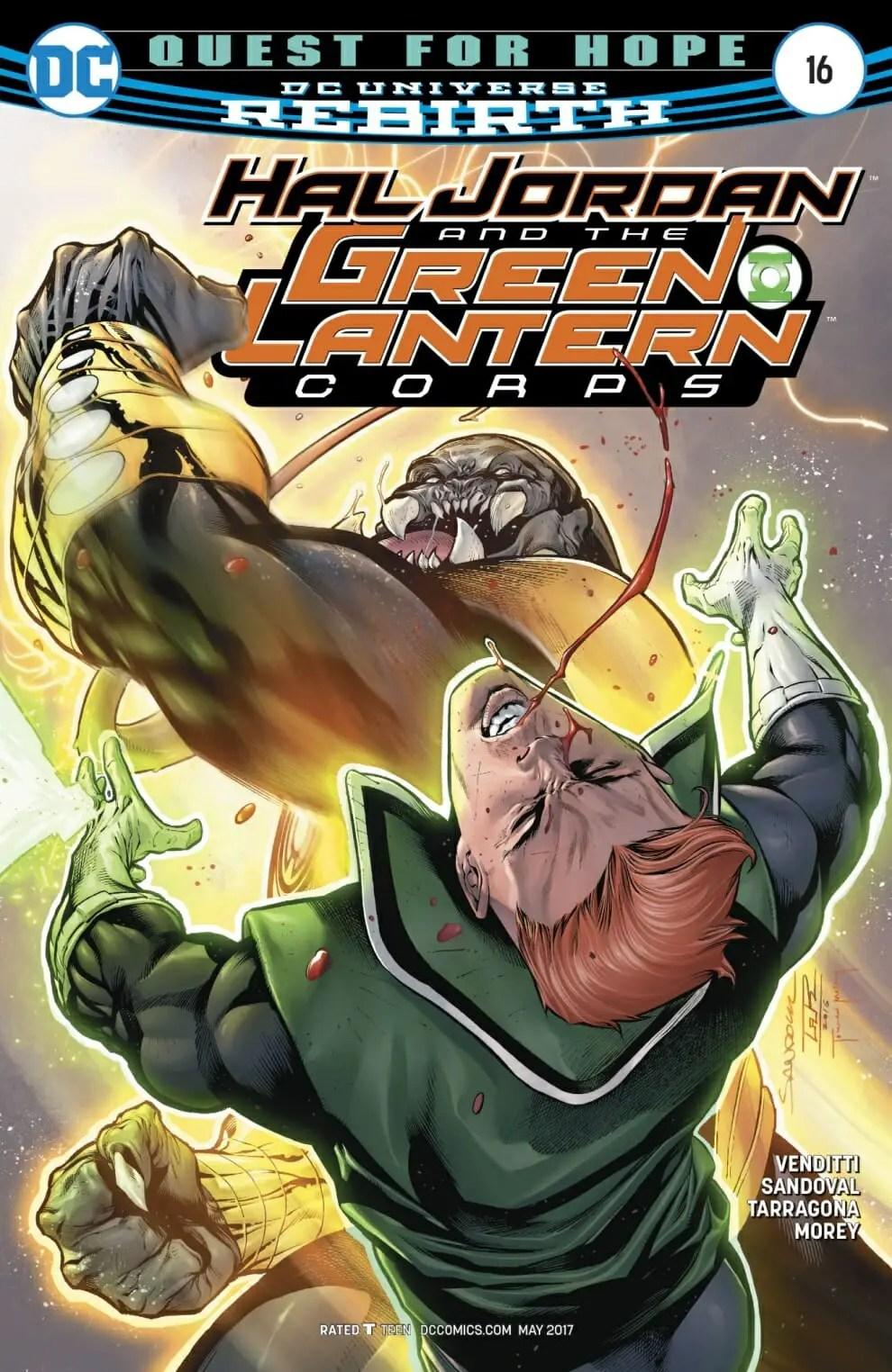 Hal Jordan And The Green Lantern Corps  16 Spoiler Review