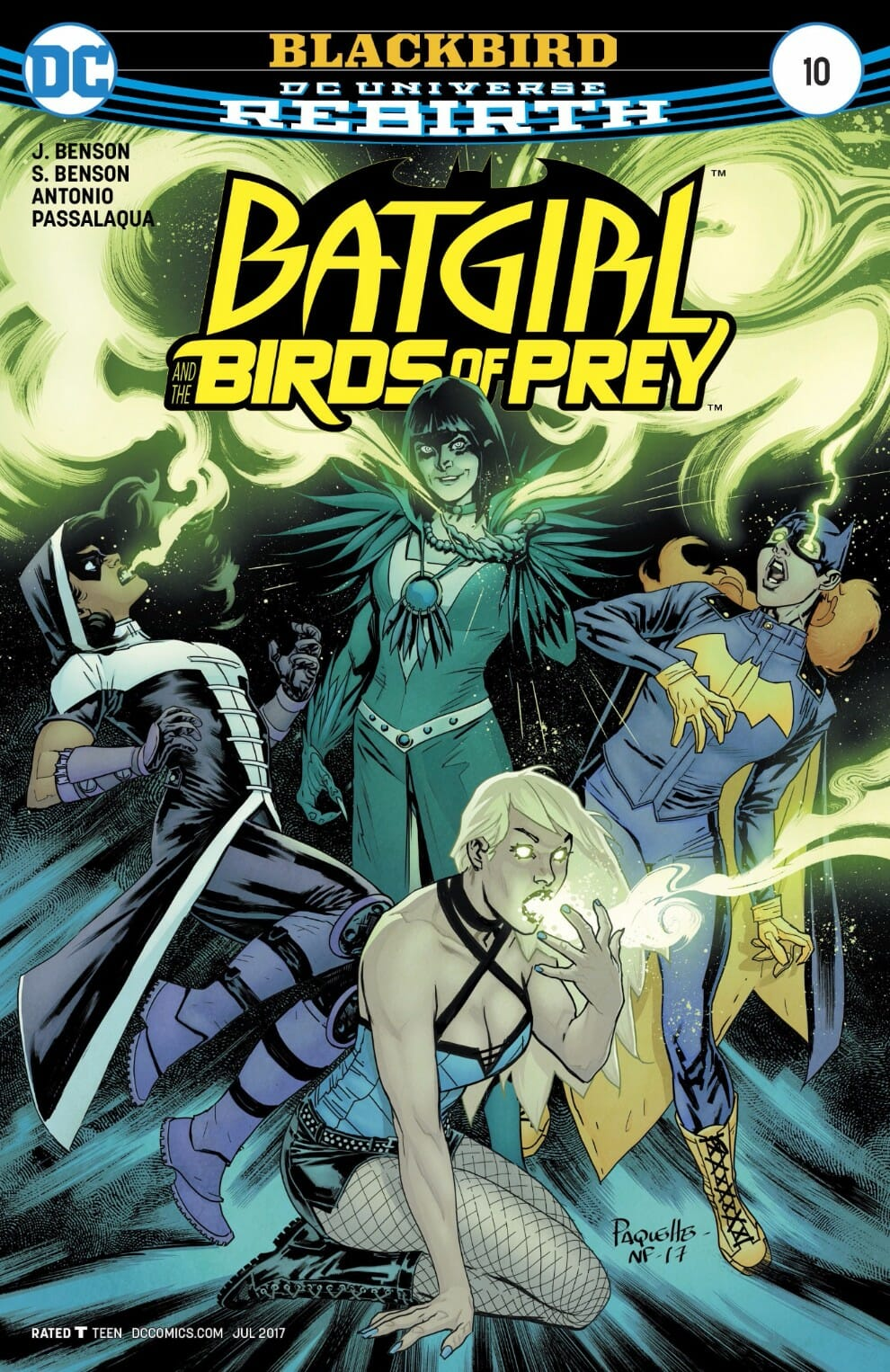 Batgirl And The Birds Of Prey 10 Review Comic Book Revolution