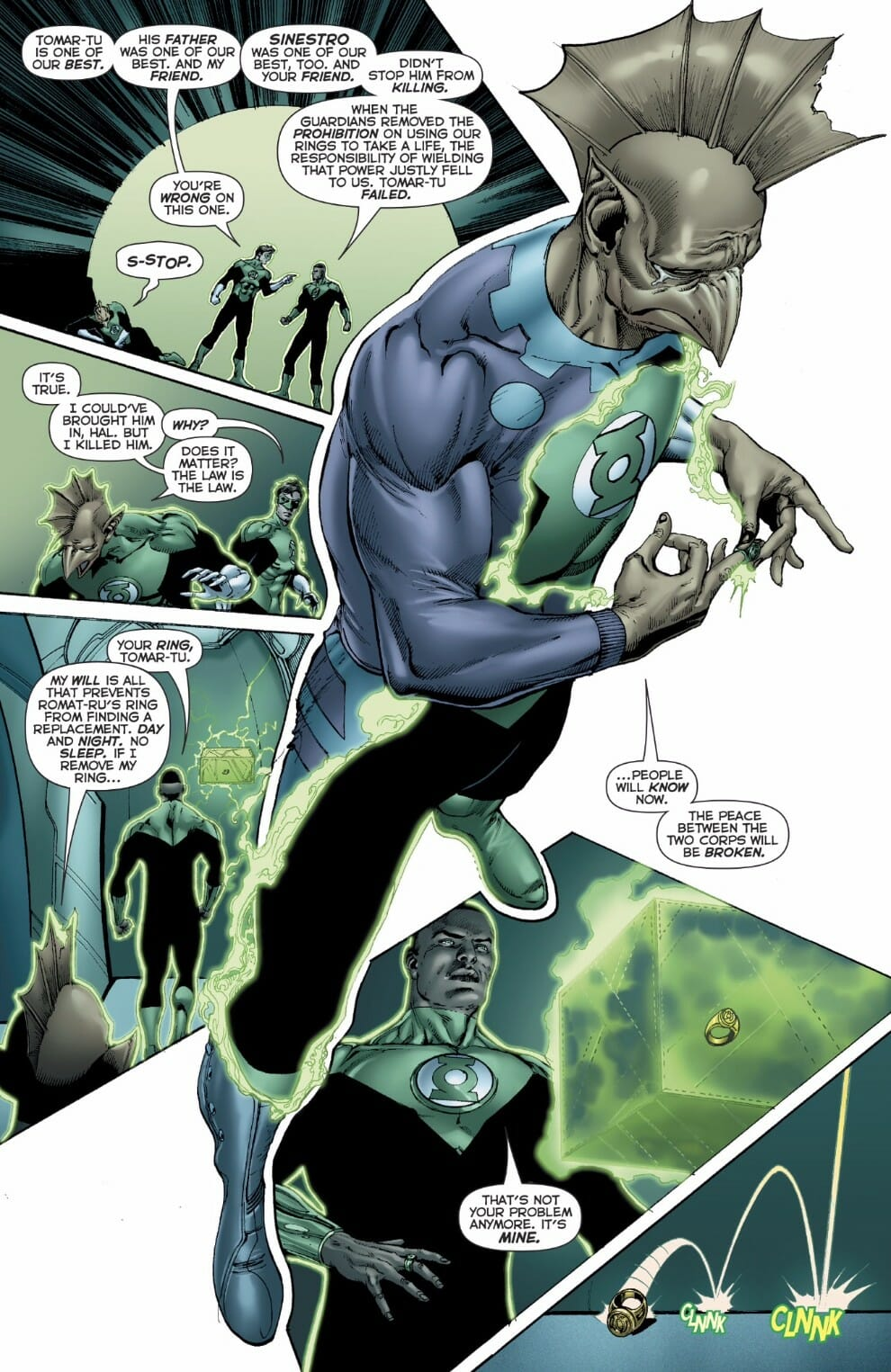 The Green Woman The Empress From The Wildwood Tarot: Hal Jordan And The Green Lantern Corps #24 Spoiler Review