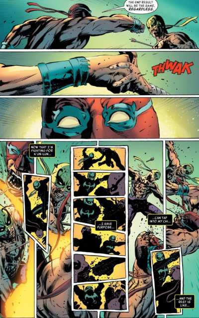 Iron Fist #5 Moment
