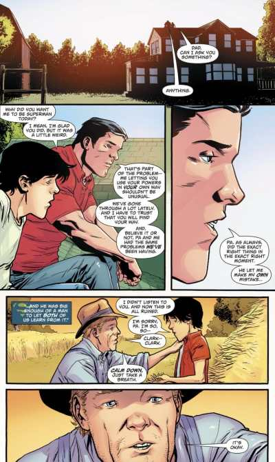 Superman #26 Moment