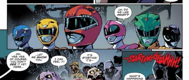 Mighty Morphin Power Rangers #18 Review