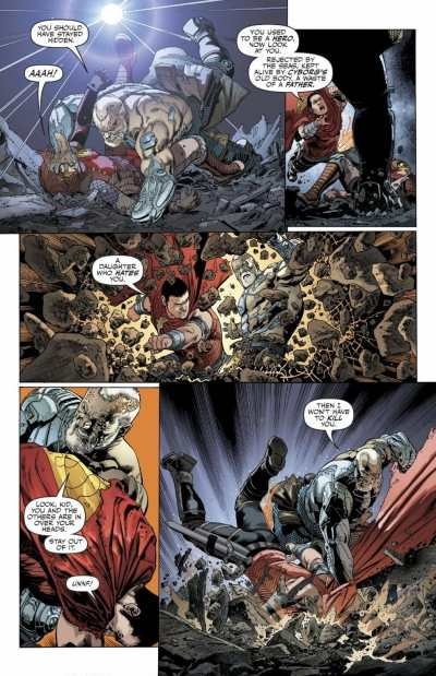 Justice League #26 Moment