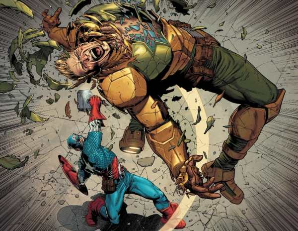 Secret Empire #10 Moment