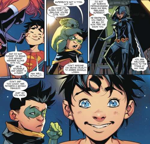 Super Sons #7 Moment