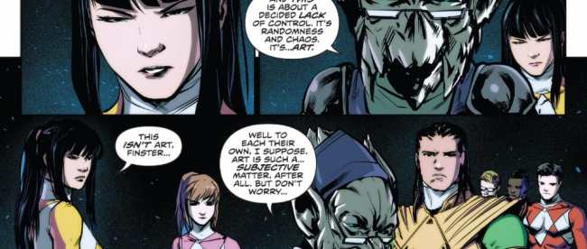 Mighty Morphin Power Rangers #19 Review