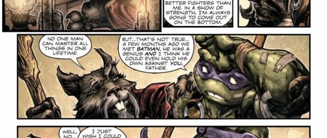Batman/Teenage Mutant Ninja Turtles II #1 ReviewBatman/Teenage Mutant Ninja Turtles II #1 Review