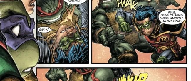 Batman/Teenage Mutant Ninja Turtles II #3 Review