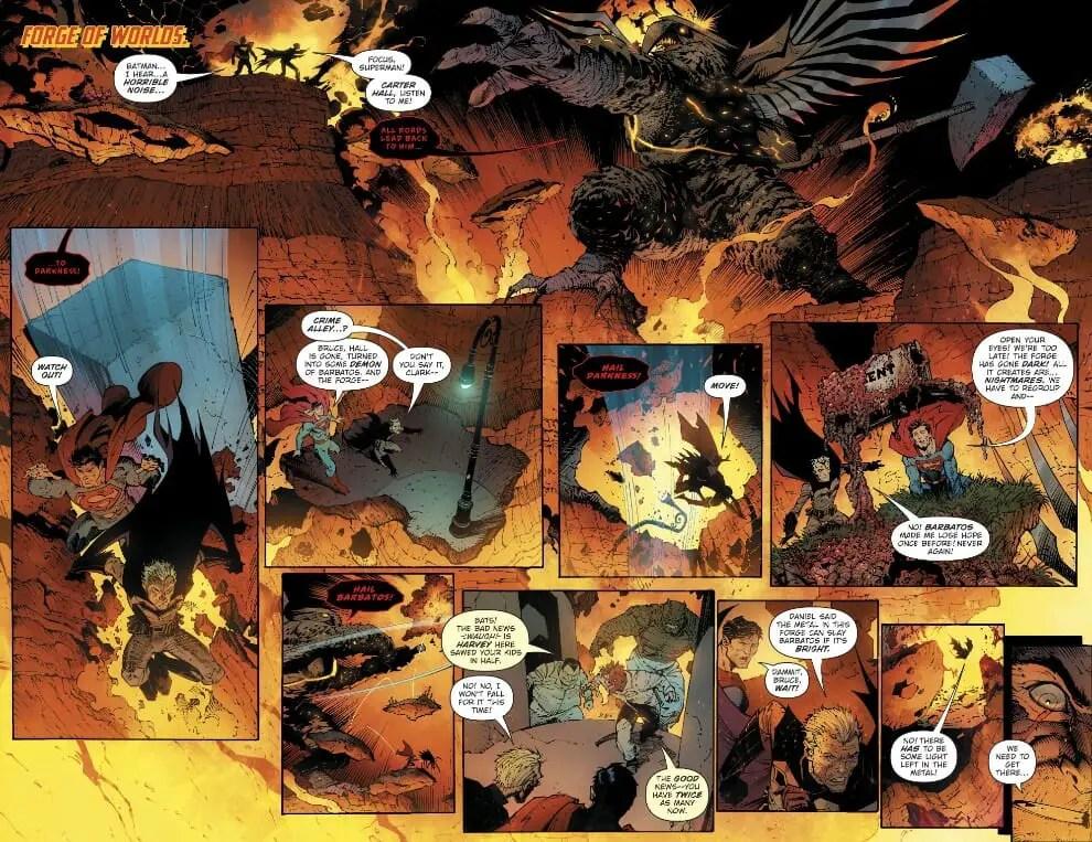 DARK NIGHTS BATMAN RED DEATH #1 DC COMICS 2ND PRINT DECEMBER 2017