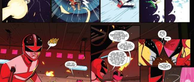 Mighty Morphin Power Rangers #25