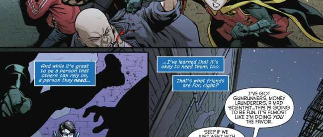 Nightwing #43 Review