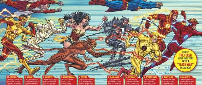 DC Comics Great Race SDCC