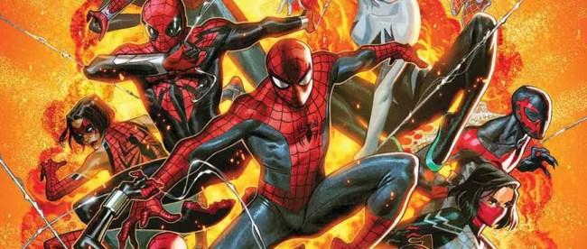 Spider-Geddon #1 Cover