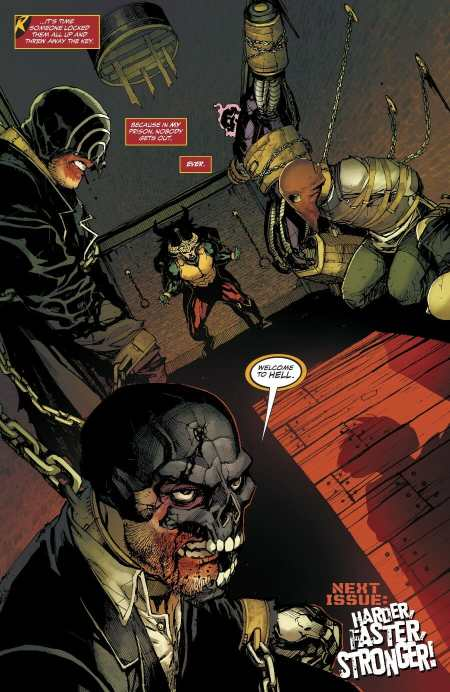Teen Titans #20 Highlight