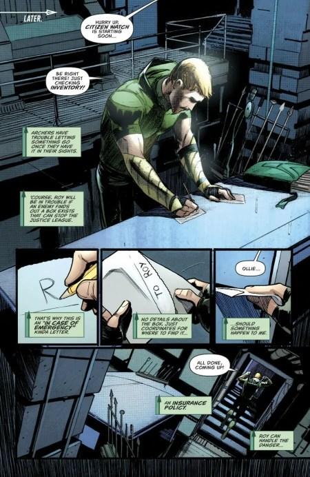 Green Arrow 43 Highlight