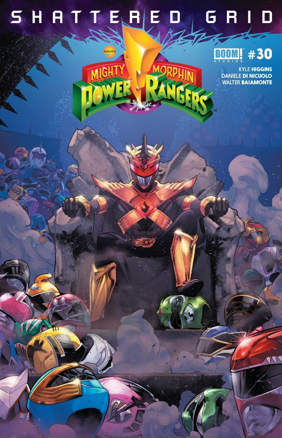 84fc7fb56 Mighty Morphin Power Rangers #30 (Shattered Grid) Review