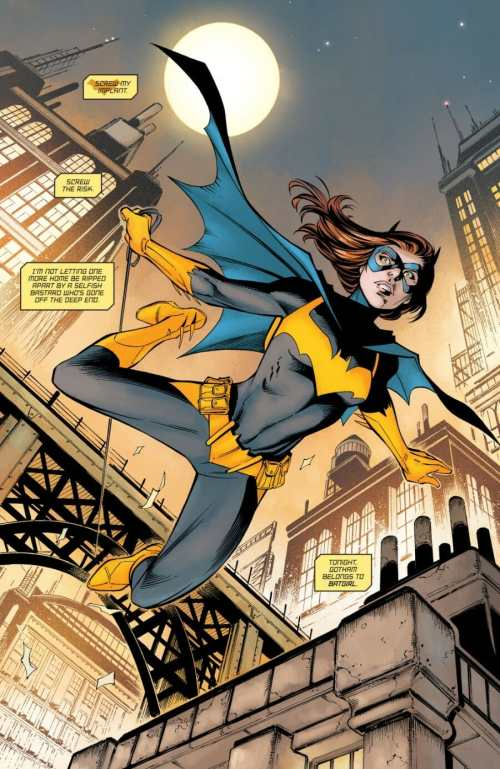 Batgirl #27 Highlight