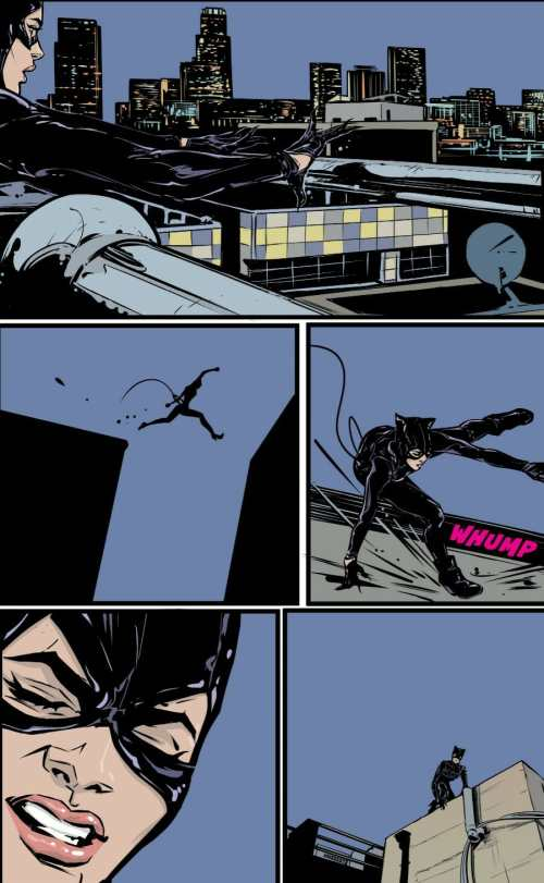 Catwoman #3 Highlight