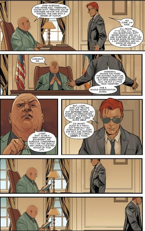 Daredevil #608 Highlight