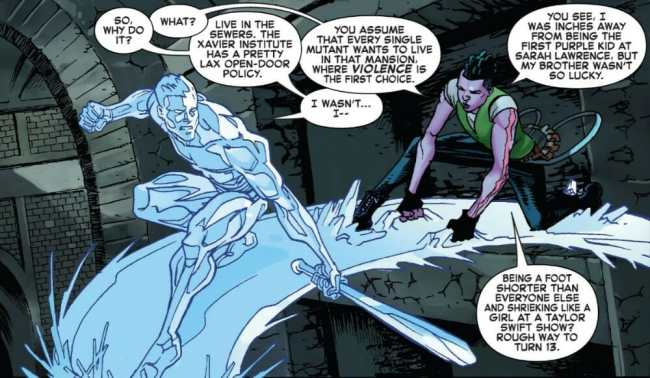 Iceman #1 Highlight