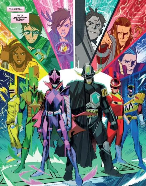 Mighty Morphin Power Rangers #31 Highlight