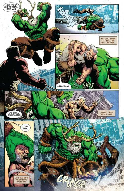 Old Man Logan #48 Highlight