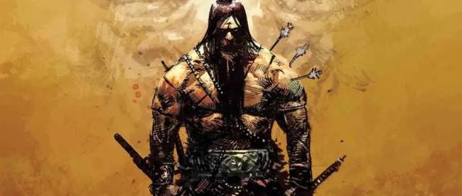 Conan The Barbarian #1 Cover