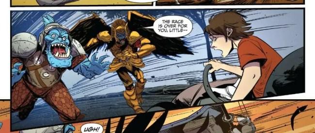 Go Go Power Rangers #13 Review
