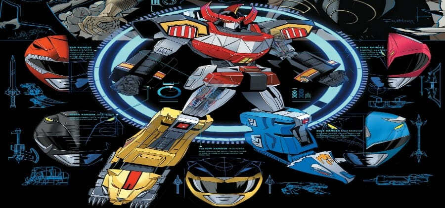 Go Go Power Rangers #13 Review