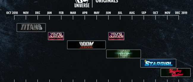 NYC 2018 DC Universe Schedule