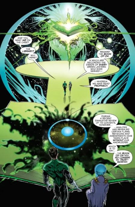 The Green Lantern 1 Highlight