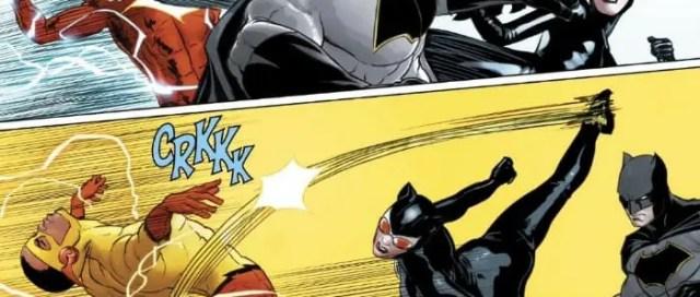 Batman Catwoman Fight Flash 2018