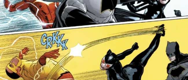 Batman Catwoman Fight Flash 2018