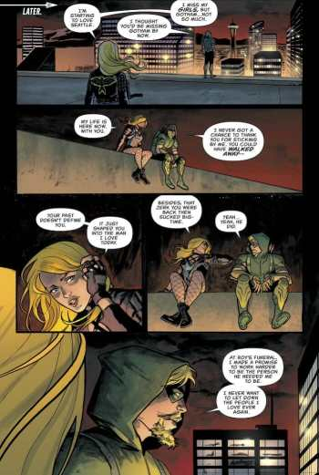 Green Arrow 47 Highlight