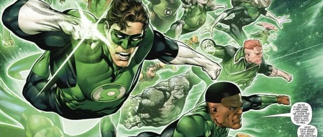 Hal Jordan And Green Lantern Corps 2018