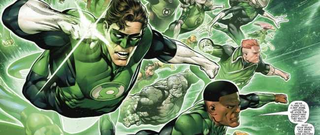 Hal Jordan And Green Lantern Corps 2018