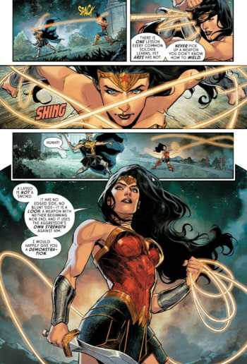 Wonder Woman 62 Moment