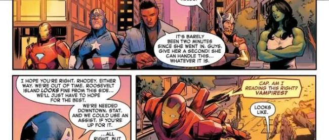 Captain Marvel #2: Avengers Leave