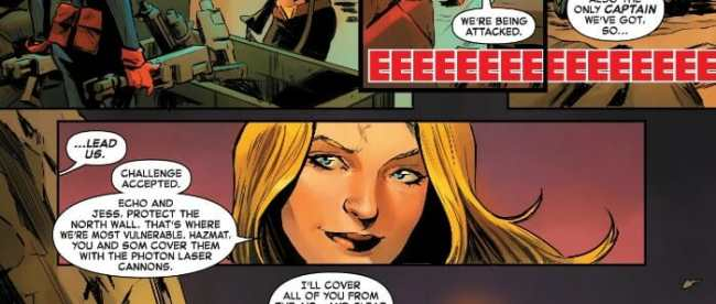 Captain Marvel #2: Captain Marvel Leads The Rebellion