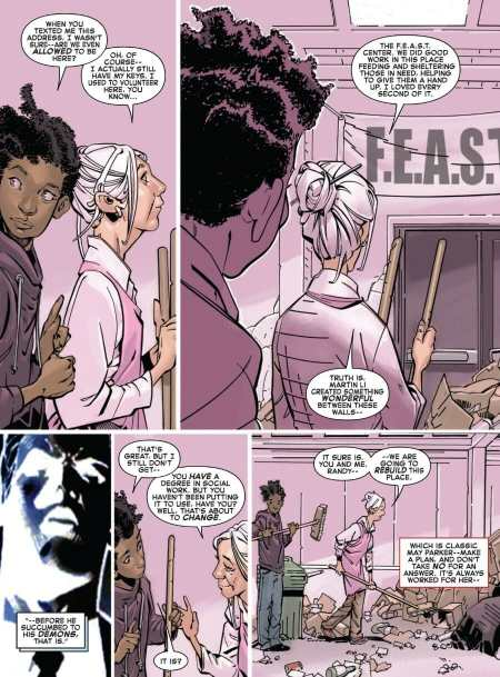 Amazing Spider-Man #15 Aunt May Re-Opens FEAST
