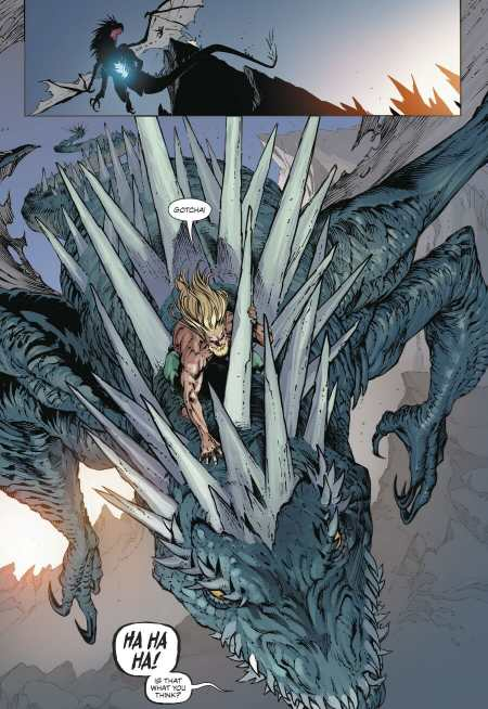 Aquaman #46 Moment