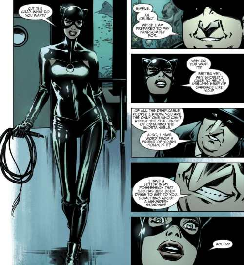 Catwoman #8 Penguin Uses Holly Robinson